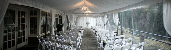 Event rentals in the Greater Puget Sound area
