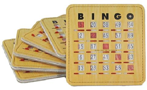 Where to find BINGO SLIDE CARDS 10PK in Seattle