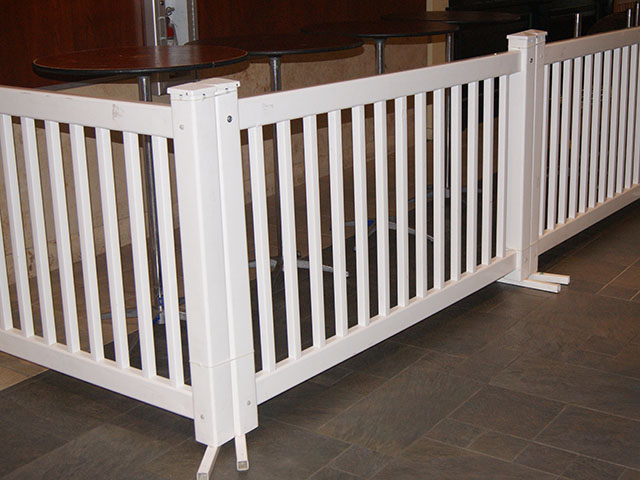 Where to find FENCE WHITE 6 X42  PVC in Seattle