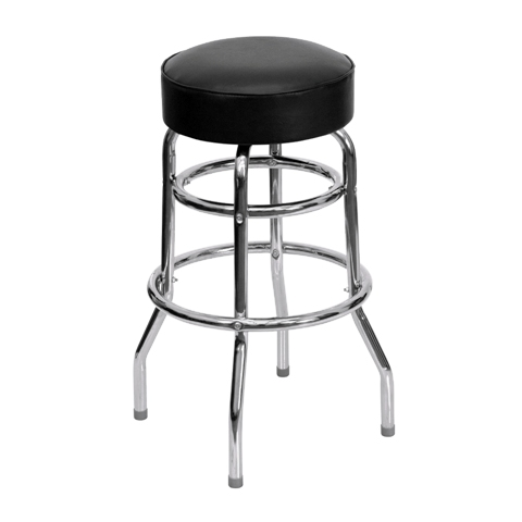 Where to find BARSTOOL BLACK   CHROME in Seattle