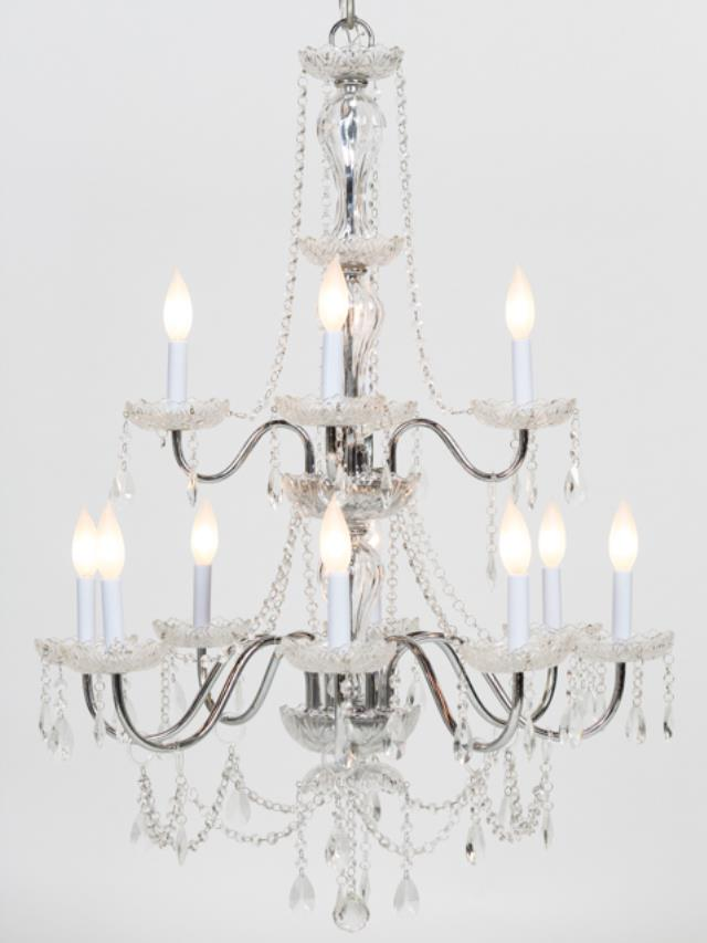 Where to find CHANDELIER CRYSTAL LARGE in Seattle