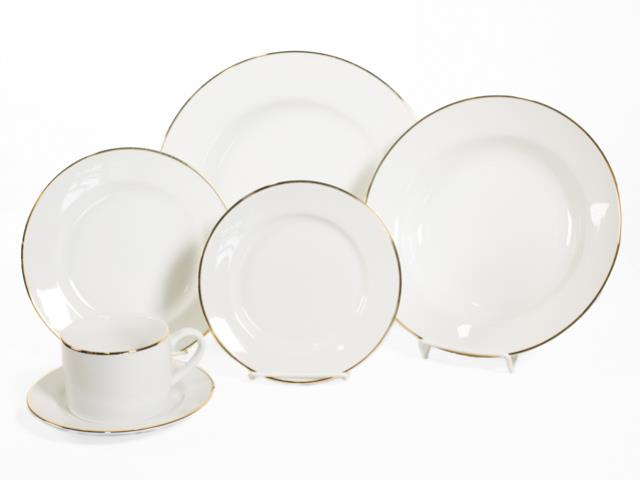 Where to find GOLD RIM WHITE CHINA in Seattle