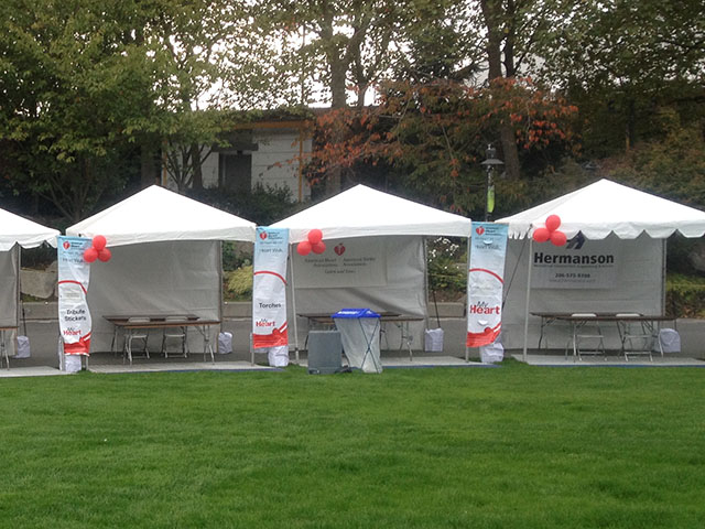 Where to find FRAME TENTS 10FT WIDE in Seattle