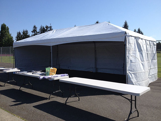 Where to find FRAME TENTS 15FT WIDE in Seattle