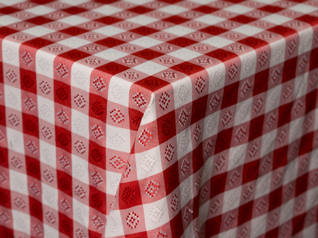 Where to find RED WHITE CHECK LINEN in Seattle