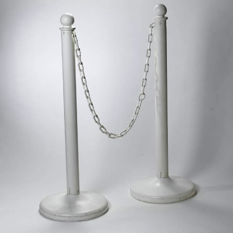 Where to find WHITE PLASTIC STANCHION in Seattle
