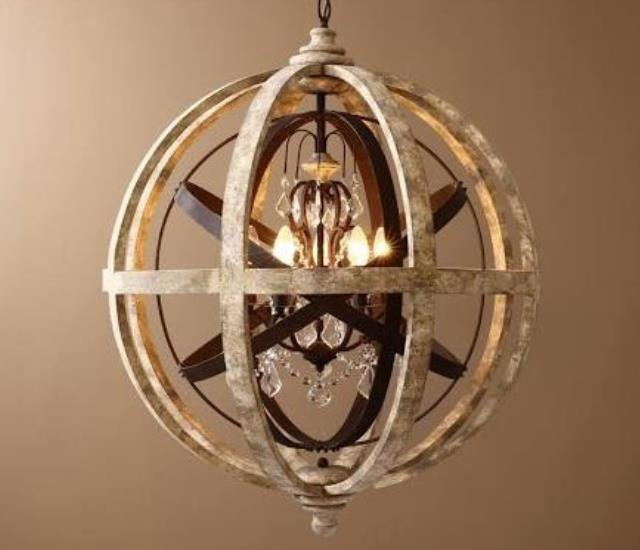 Where to find CHANDELIER RUSTIC ORBITAL in Seattle