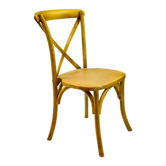 Where to find CHAIR CROSSBACK NATURAL OAKWOOD in Seattle