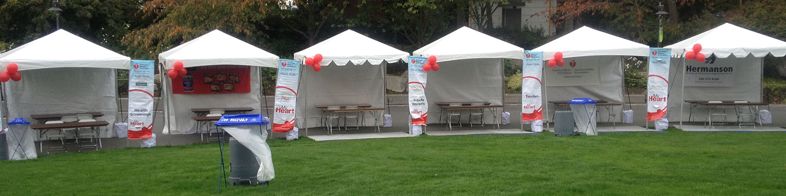 Table and Chair rentals in the Puget Sound Region
